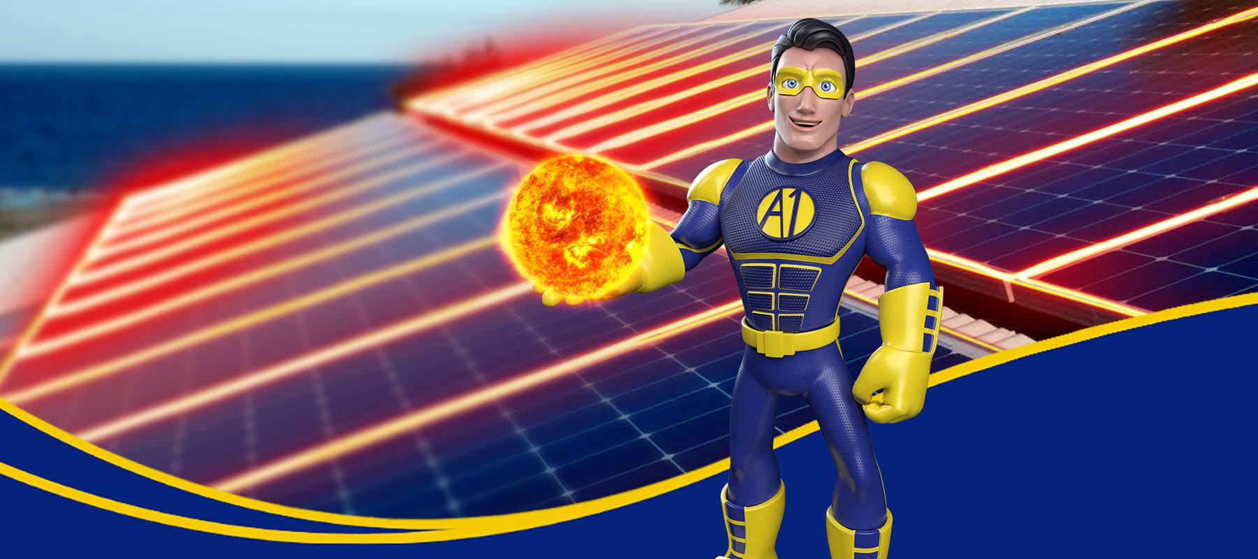 A1 BatteryPro Mascot